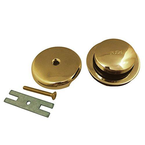 Kingston Brass Made to Match DTL5302A2  Toe Tap Drain Kit, Polished Brass Made to Match