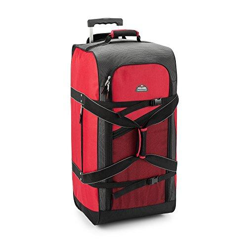 Polaris 30in Mega Wheeled Duffel Bag - Red