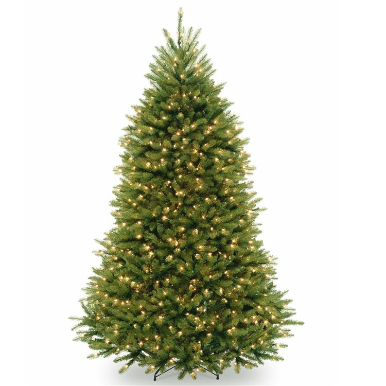 National Tree PowerConnect Dunhill Fir Tree with Clear Lights [Item # DUH3-300P-75]