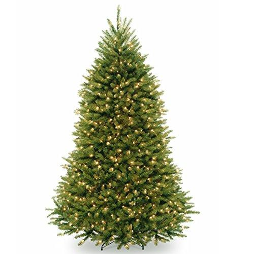 National Tree PowerConnect Dunhill Fir Tree with Clear Lights
