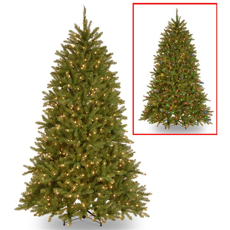 National Tree PowerConnect Dunhill Fir Tree with Dual Color LED Lights [Item # DUH3-D30-65]