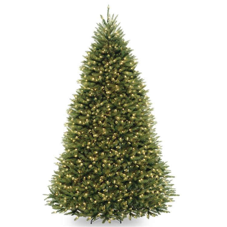 National Tree Dunhill Fir Tree with Dual Color LED Lights [Item # DUH-330LD-10S]