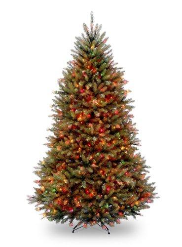 Dunhill Fir Tree with Multicolor Lights