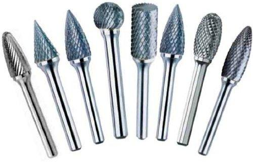 1/8 X 1/8 STD Carbide Burr 11 Piece Set, DUL5SET
