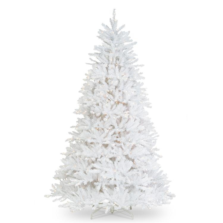 National Tree Dunhill White Fir Tree with Clear Lights [Item # DUWH-65LO]
