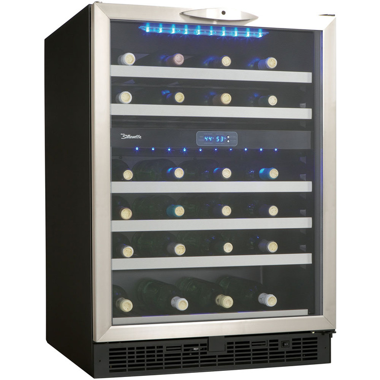 Danby DWC518BLS 5.1 Cu. Ft. Silhouette Wine Cellar