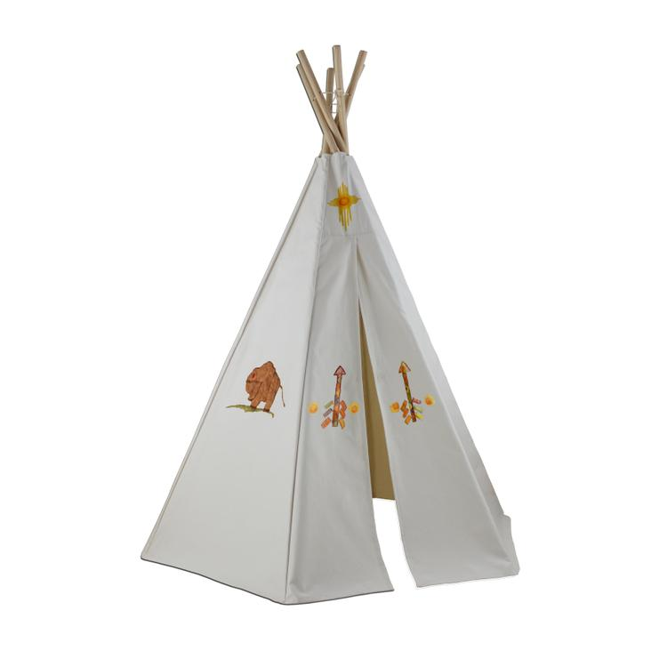 Create-My-Own Great Plains Teepee With Washable Markers