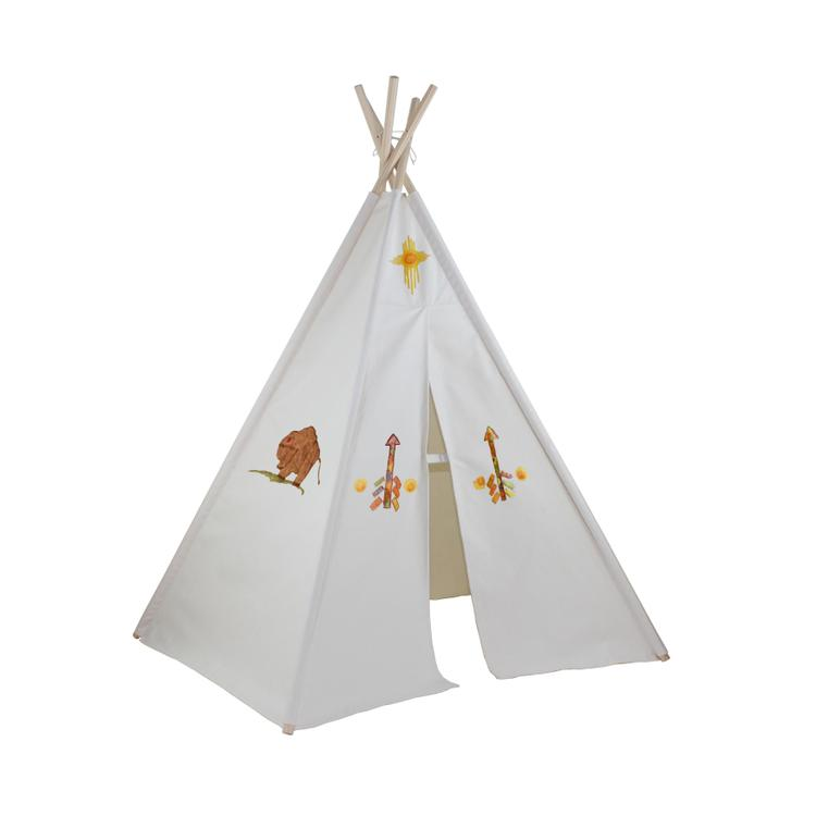 Hideaway Five Panel Teepee With Washable Markers