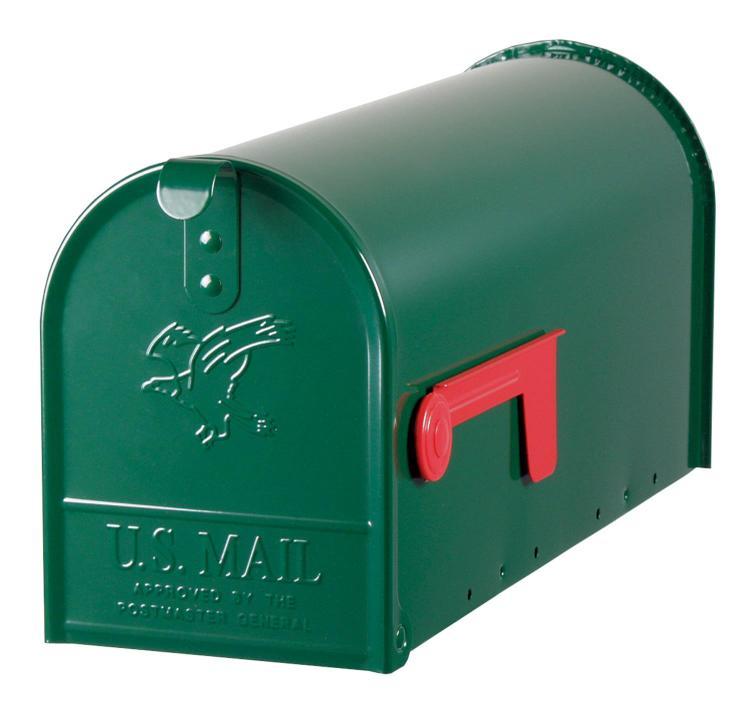 E11G Mailbox Rural Grn #1