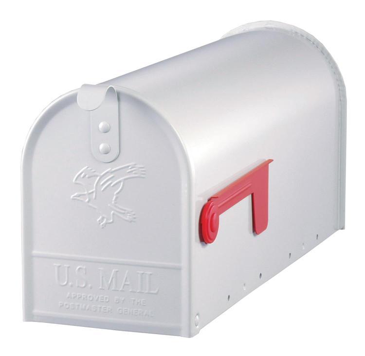 E11W Mailbox Rural Wht #1