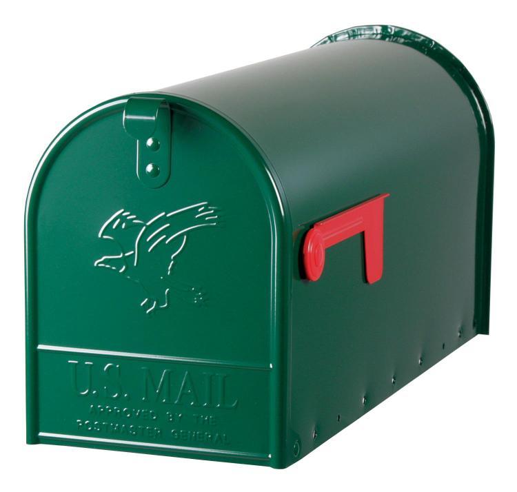 E1600G00 Mailbox Rural Grn #2