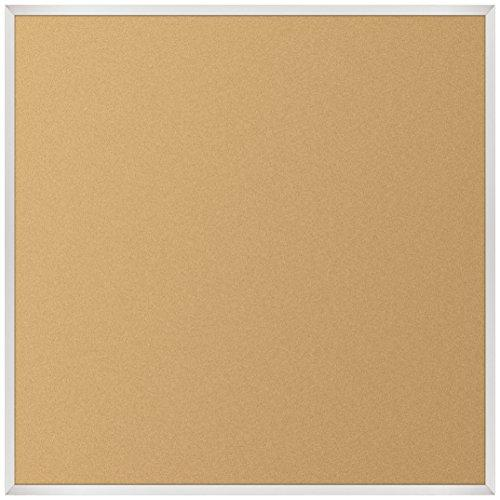 VT Logic Cork Board - Aluminum Trim - 4 x 4