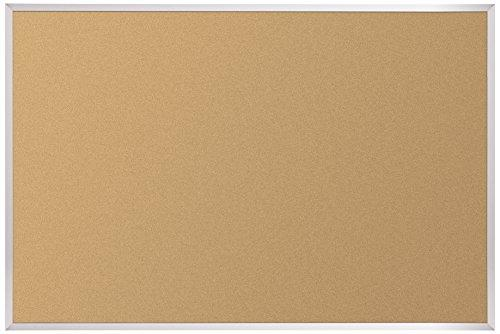 VT Logic Cork Board - Aluminum Trim - 4 x 6