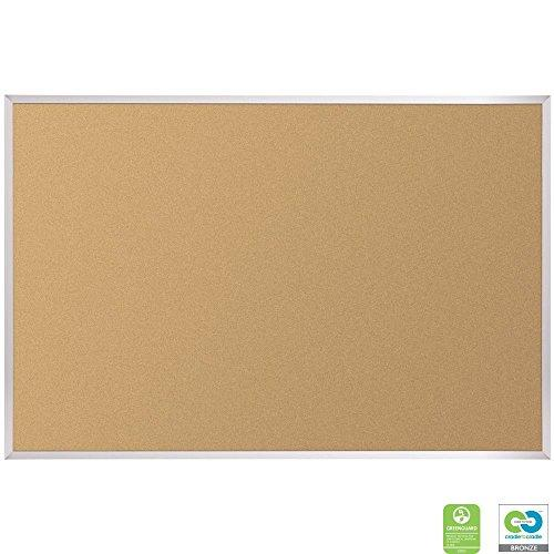 VT Logic Cork Board - Aluminum Trim - 4 x 10