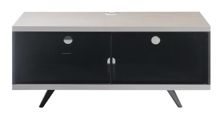 Emerald Home Modern Home TV Console Gray