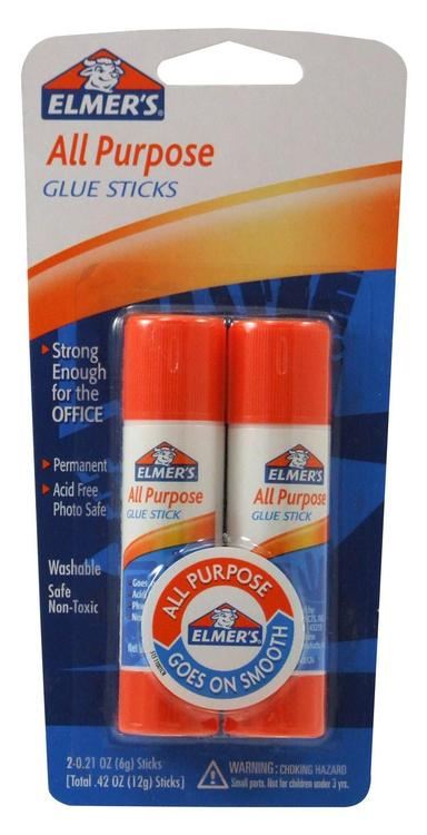 E512 Elmers Glue Stick 2Pk