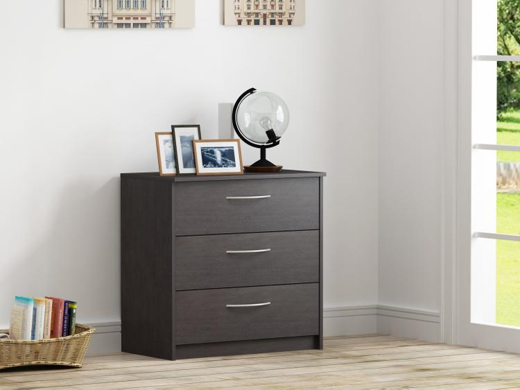 Finch 3 Drawer Chest, Espresso