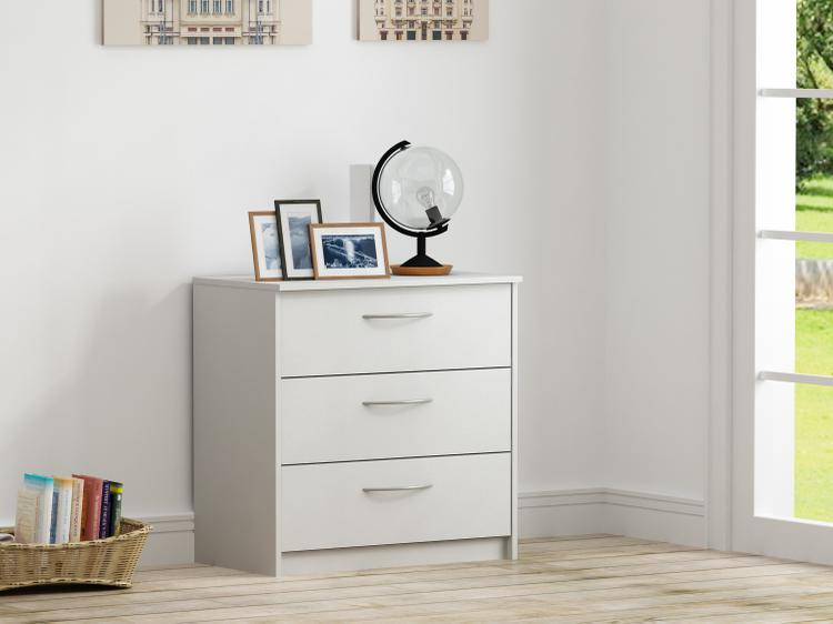 Homestar Finch 3 Drawer Chest - [EB108738W5]