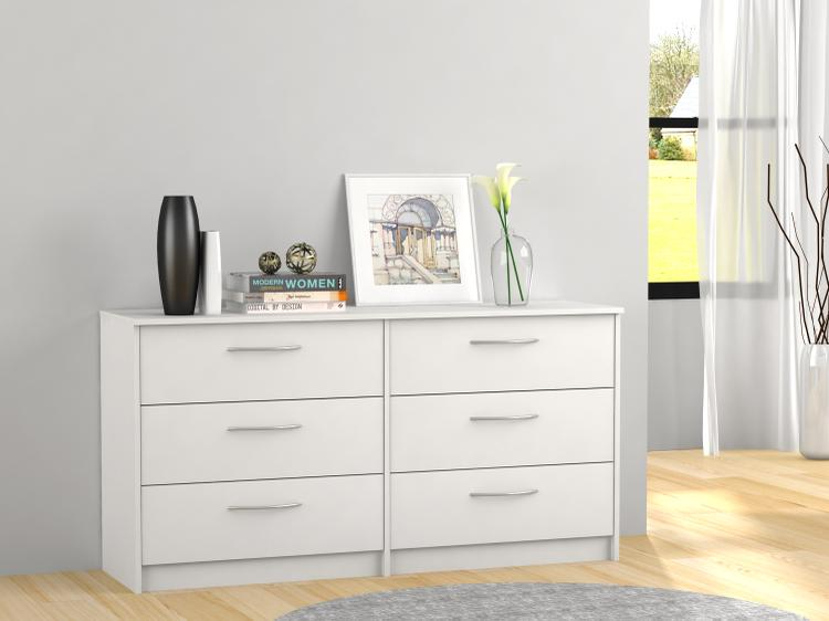 Homestar Finch 6 Drawer Dresser