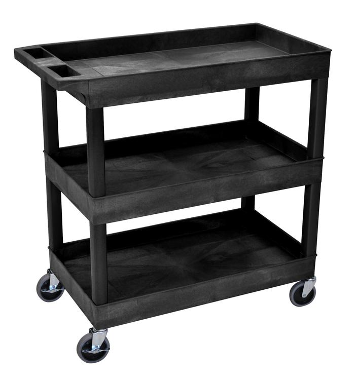 Luxor Tub Cart - Three Shelves