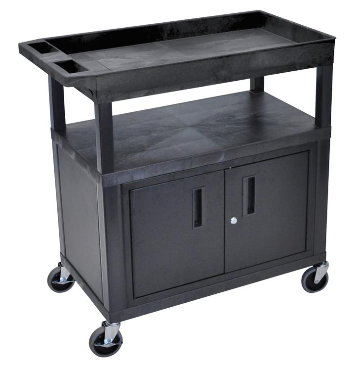 Luxor Cart - Two Flat/One Tub Shelves