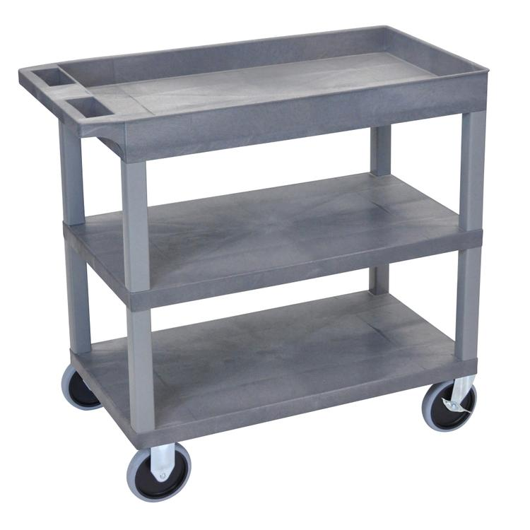 Luxor Cart - Two Flat/One Tub Shelves