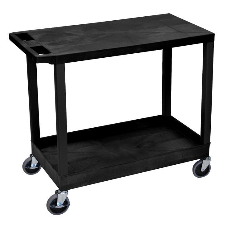 Luxor Cart - One Tub/One Flat Shelves