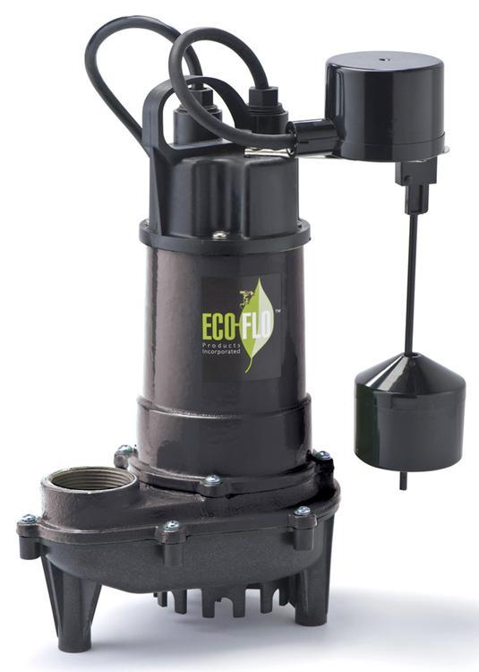 Ecd33V Sump Pump 1/3Hp Submers