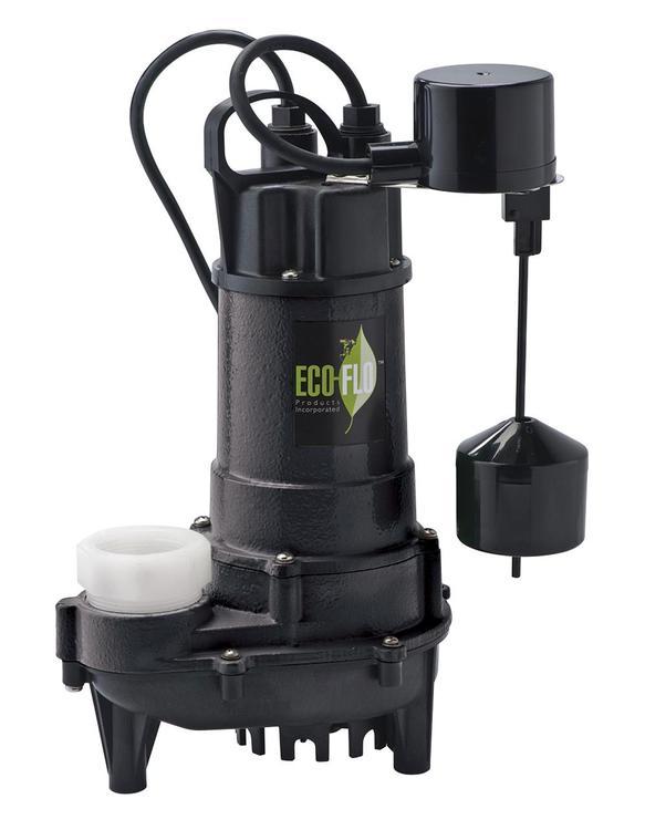 Ecd75V Sump Pump 3/4Hp Sub Ci