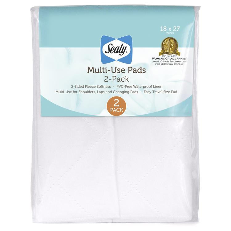 Sealy Multi-Use Pad, 2 Pack
