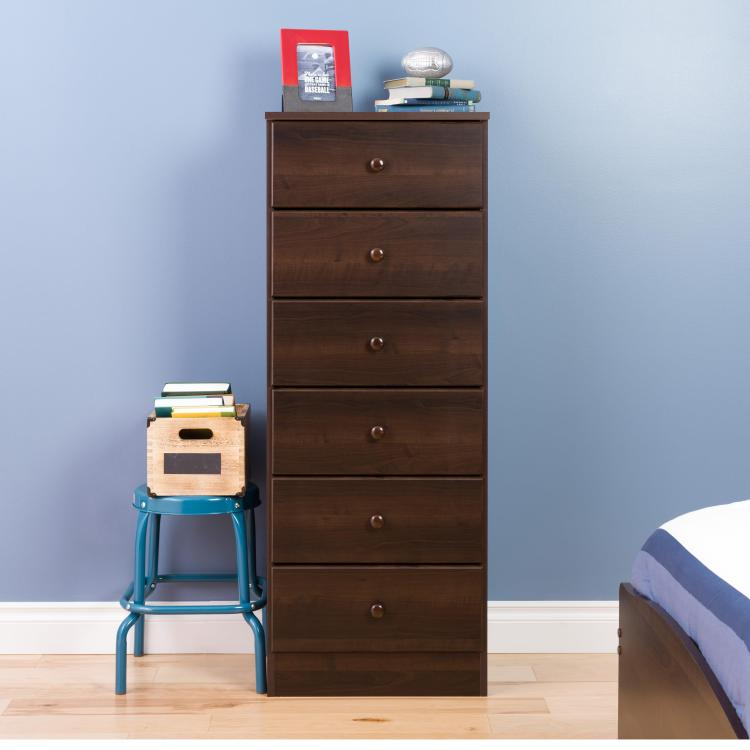 Astrid 6-Drawer Tall Chest