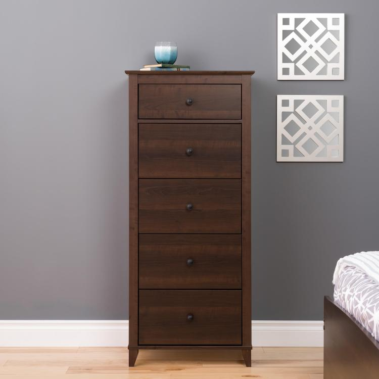 Yaletown 5-Drawer Tall Chest