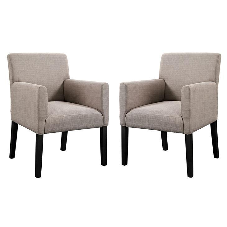 LexMod Chloe Upholstered Armchair