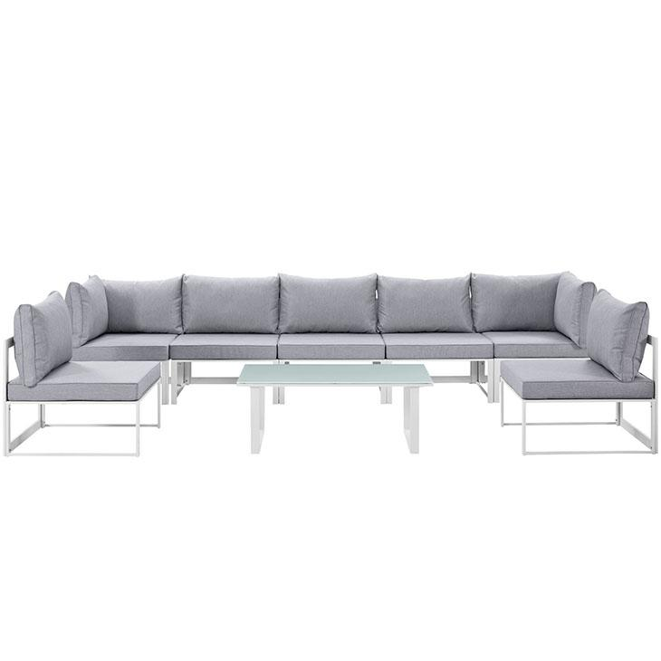 Fortuna Outdoor Patio Sectional Sofa Set