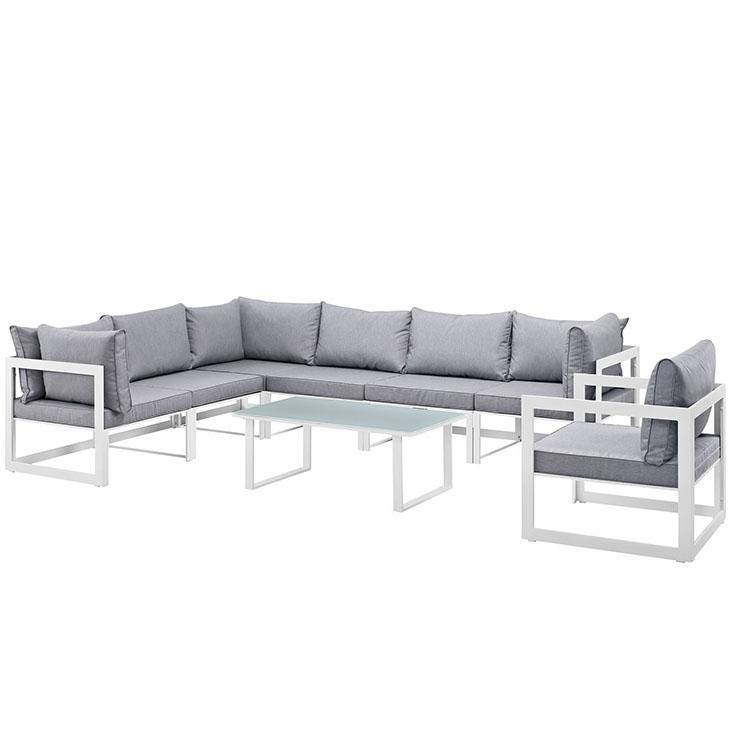 Fortuna Outdoor Patio Sectional Sofa Set