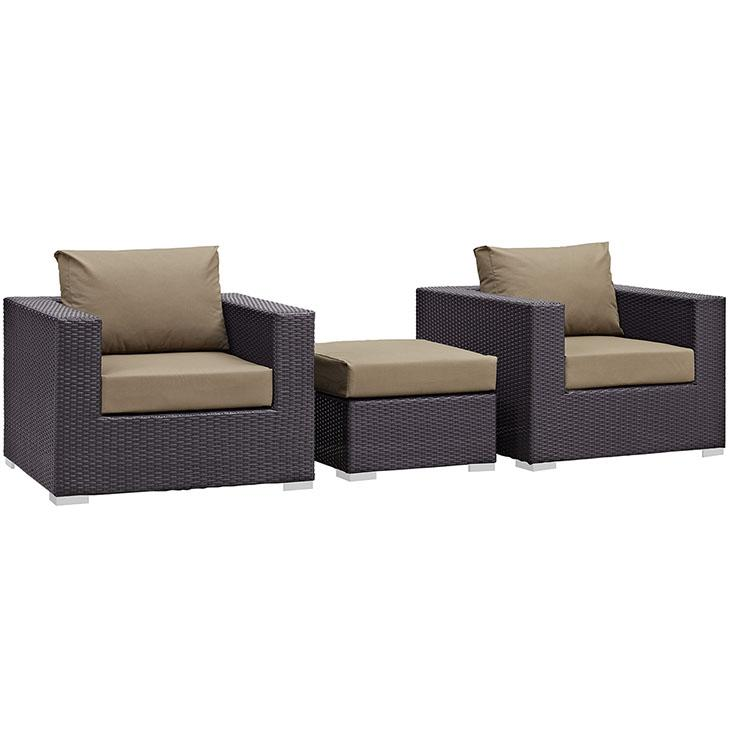 Convene Outdoor Patio Sofa Set