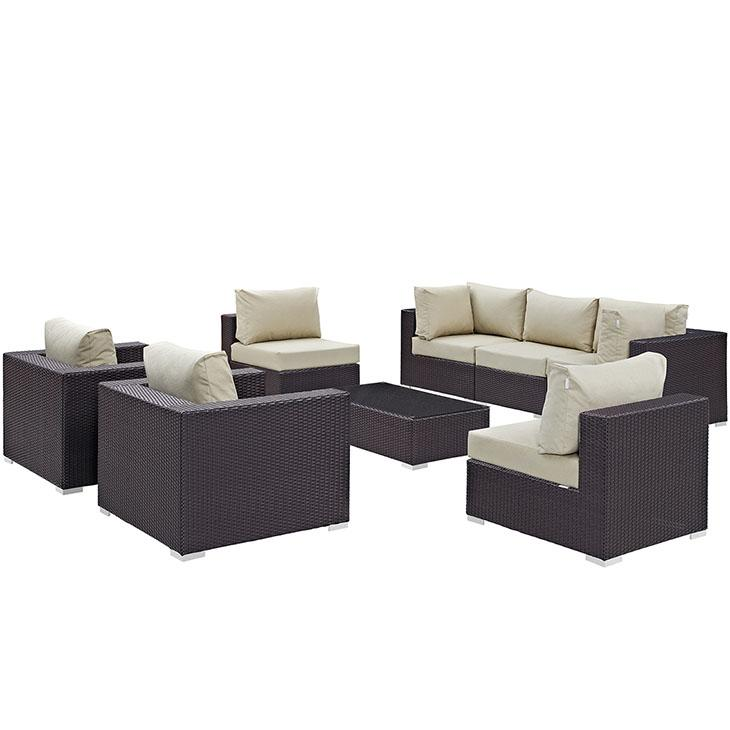 Convene Outdoor Patio Sectional Set