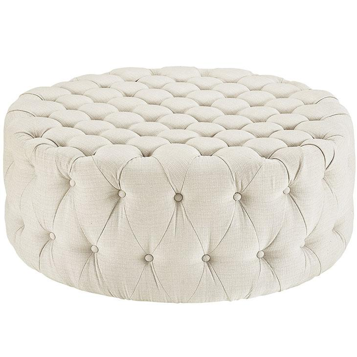 Amour Upholstered Ottoman