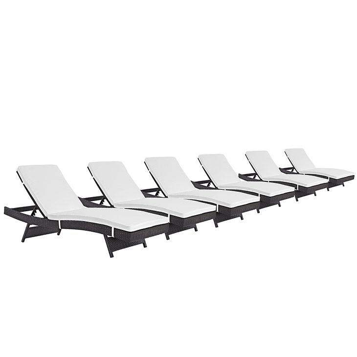 Convene Chaise Outdoor Patio Set