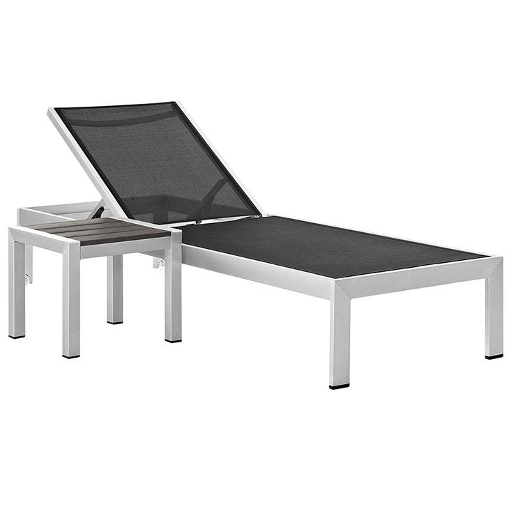 Shore Outdoor Patio Aluminum Set