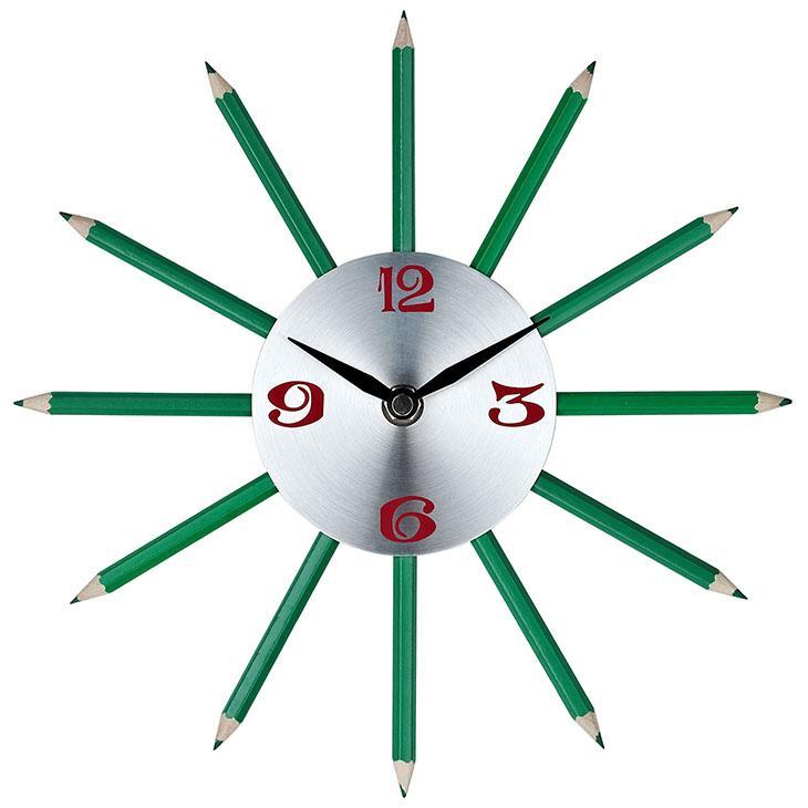 LexMod Pencil Wall Clock