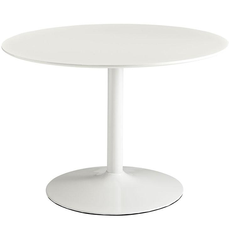 LexMod Revolve Round Wood Dining Table