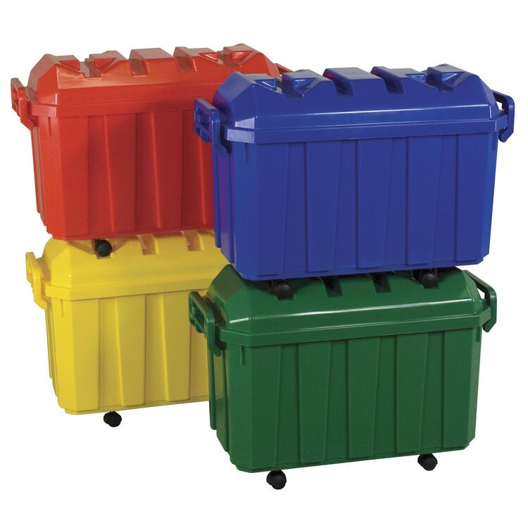 Stackable Storage Trunk - Assorted 4 Piece