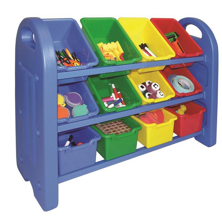 3-Tier Storage Organizer with Bins