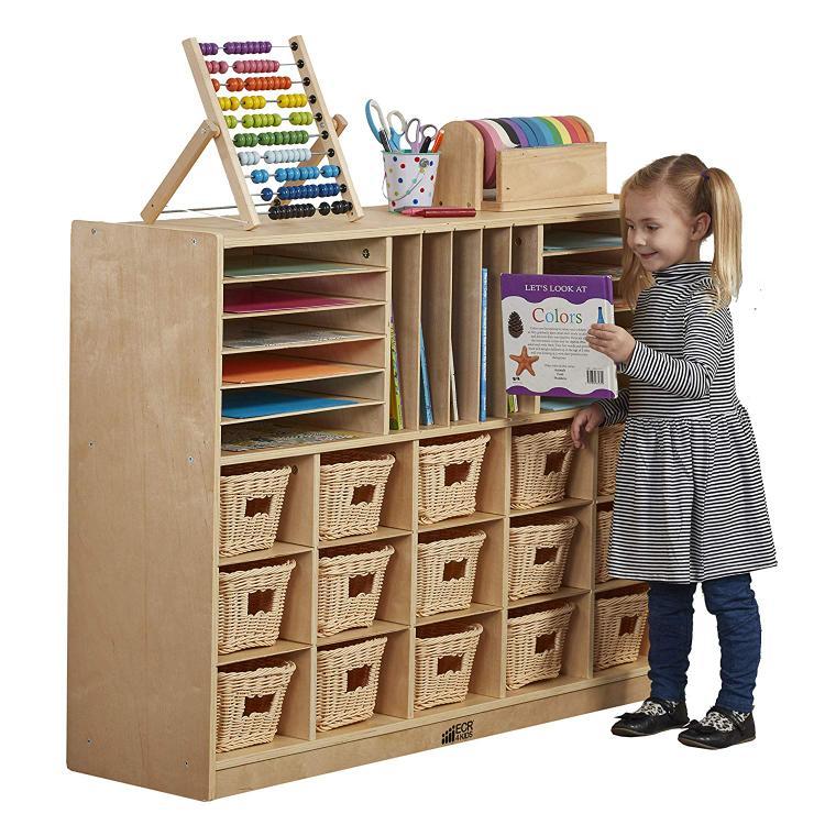 ECR4Kids Multi-Section Storage Cabinet