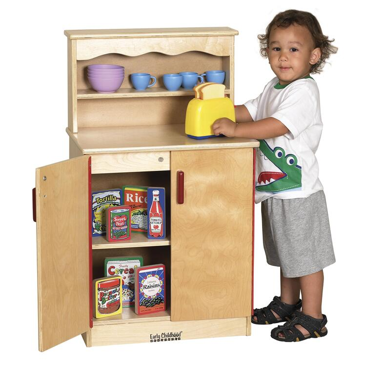Birch Play Kitchen - Cupboard
