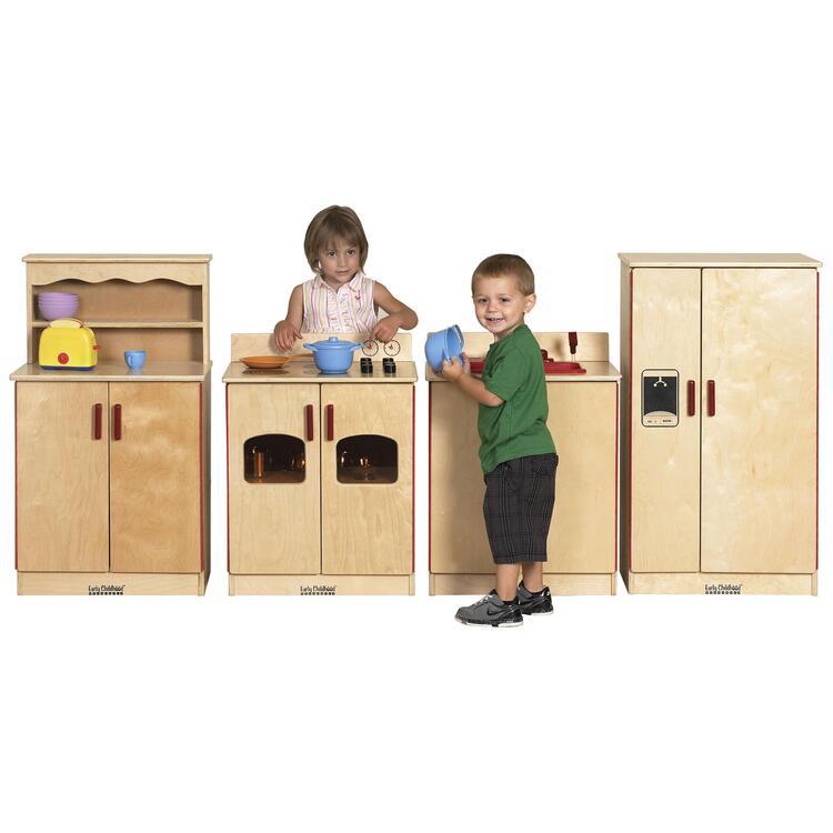 Birch 4 Piece Play Kitchen Set