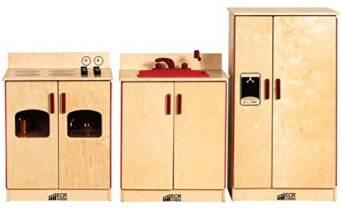 Birch 3-Piece Play Kitchen Set