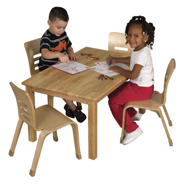 ECR4Kids Rectangular Hardwood Table