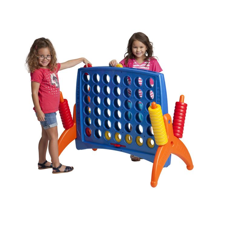 ECR4Kids Jumbo 4-To-Score Oversized Game, Primary